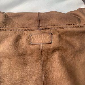 Lucky Brand Bags - Lucky Brand Hollywood and Vine Leather Hobo Bag